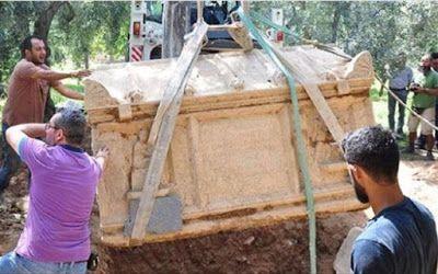 Προύσα: Στο φως τρεις αρχαίοι ταφικοί θάλαμοι