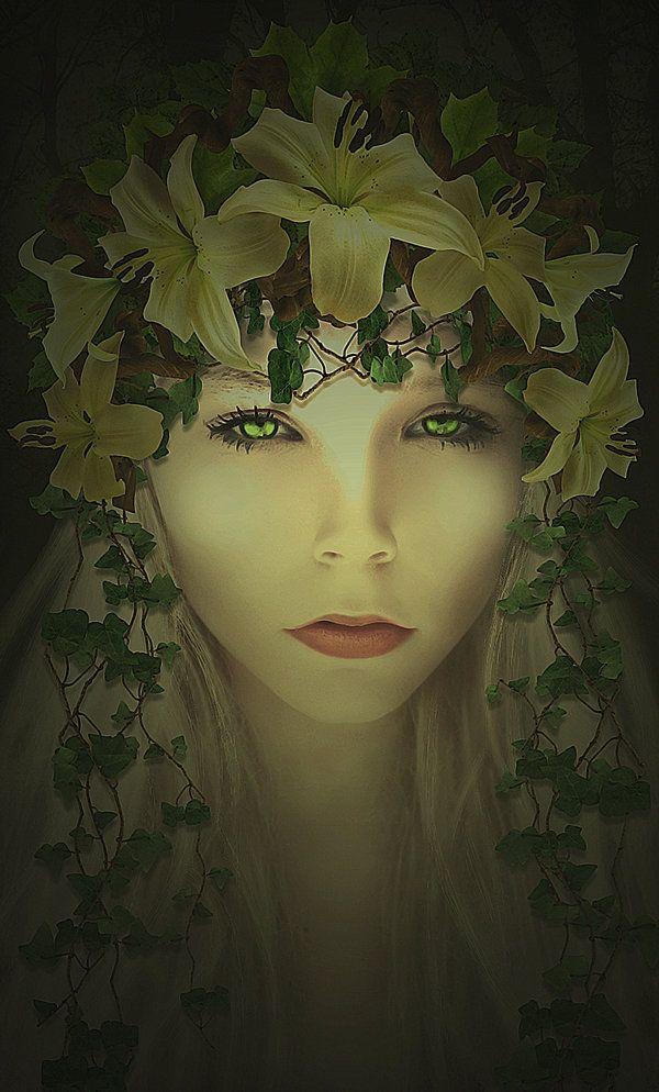 VILA - The name Vila refers to a female elf in Slavic mythology. #Mythology