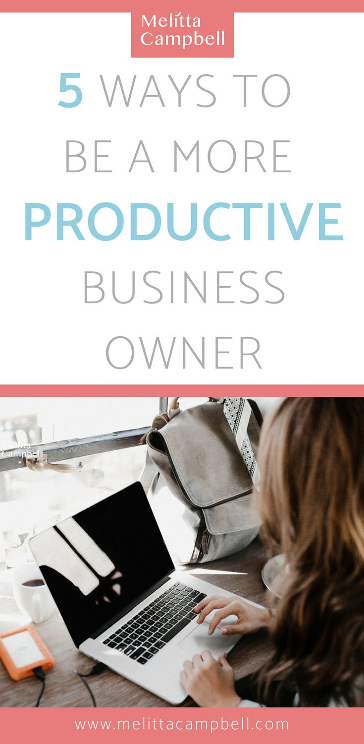 Actionable ways to stay motivated, focused and productive every day in your business so you can overcome procrastination and smash your goals! #productivity #business