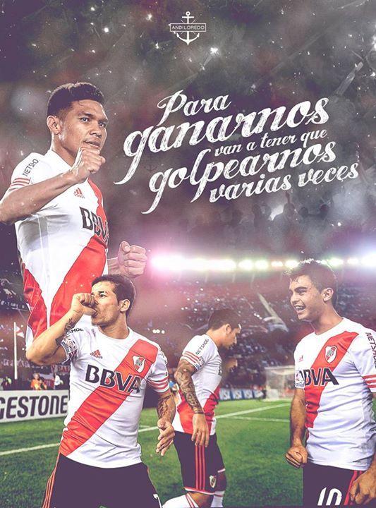 """""""Para Ganarnos van a tener que Golpearnos varias veces"""" #Gallardo #RiverPlate #Loredo"""