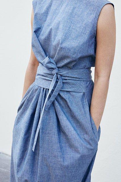 Le bleu selon Roxane Baines • Les Bons Détails