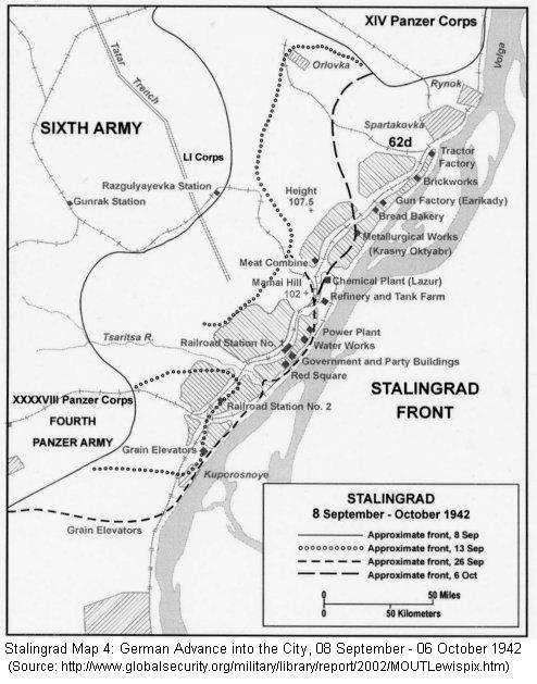 Stalingrad: German Advance into the City