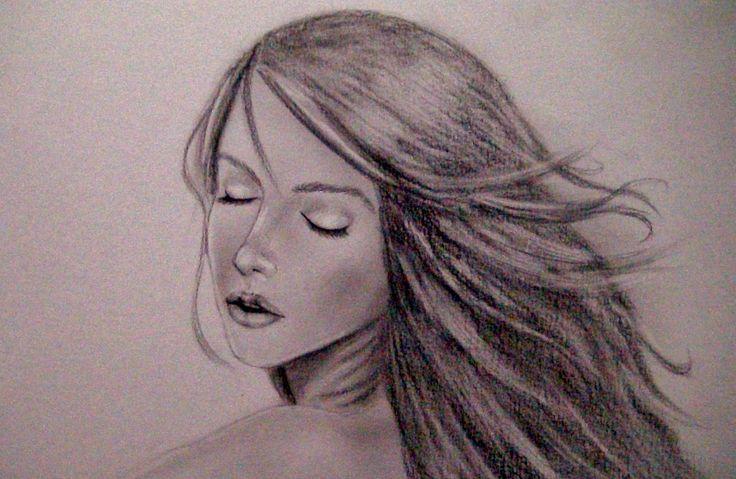 Como Dibujar Y Pintar Facil El Rostro De Una Mujer De: COMO DIBUJAR UN ROSTRO SENSUAL DE MUJER (TUTORIAL PASO A
