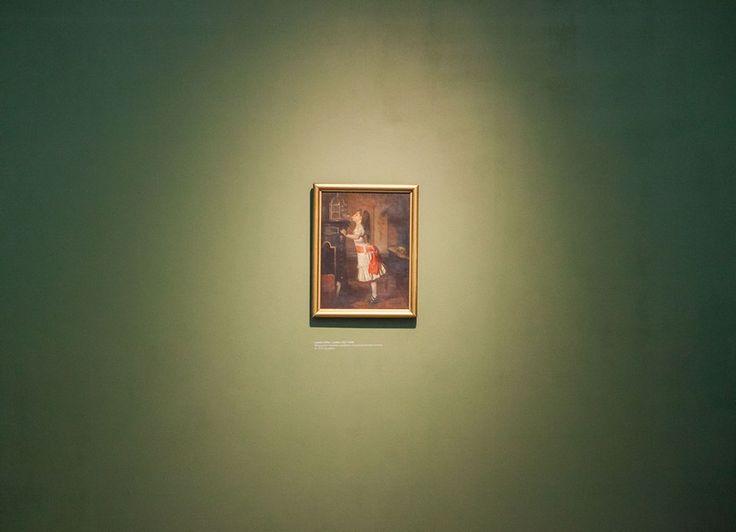 Muzeum Śląskie wzbogaciło się o nowy obraz!  Dzieło Leopolda Löfflera powróciło do śląskiej kolekcji malarstwa polskiego. 15 października br. Minister Kultury i Dziedzictwa Narodowego przekazała Muzeum Śląskiemu odnaleziony obraz, pochodzący z przedwojennej kolekcji placówki. Dziewczynka z kanarkiem Leopolda Löfflera jest szóstym płótnem odzyskanym po zawierusze wojennej.  fot. Rafał Wyrwich