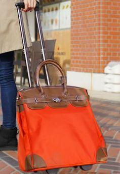 キャリーバッグ【女性の理想キャリーバッグが登場しました】おしゃれ ... おしゃれなデザインのキャリーバッグです。