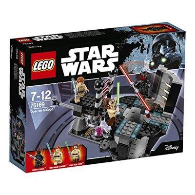 Chollo en Amazon España: Juego de construcción LEGO Star Wars Duelo en Naboo por solo 15,40€ (un 49% de descuento sobre el precio de venta recomendado y precio mínimo histórico)