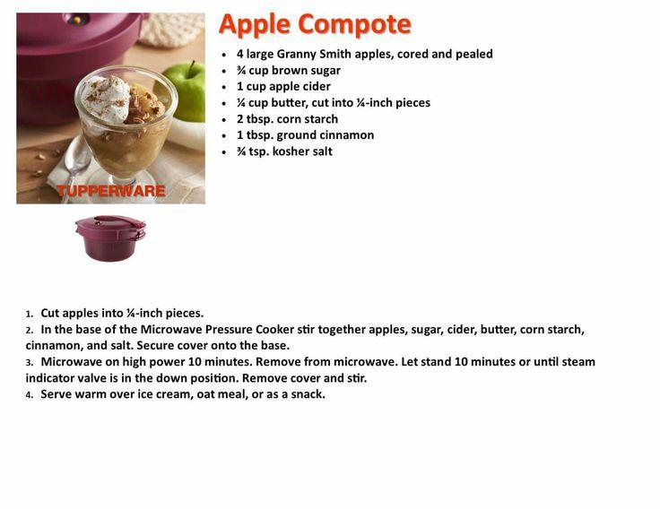 tupperware microwave pressure cooker manual