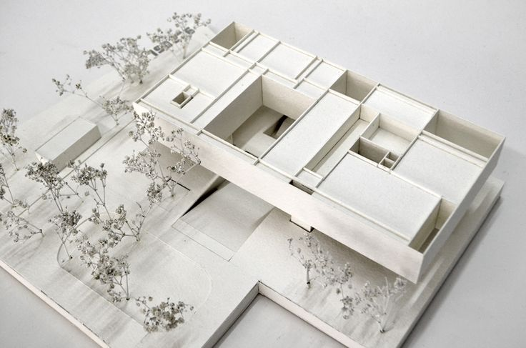 A museum for the 20th Century, Berlin A draftworks and dkwerkraum collaboration. Picture of model