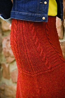Ravelry: Guernsey Skirt pattern by Kat Coyle
