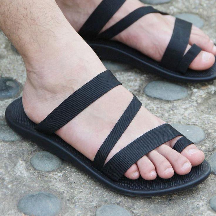 Aliexpress.com: Comprar Vietnam zapatos de hombre de tela zapatillas cómodas para hombre 2016 hombres causales plana zapatos de playa sandalias masculinas sandalias azul negro de Calcetines zapatillas para niños fiable proveedores en Oriental phoenix