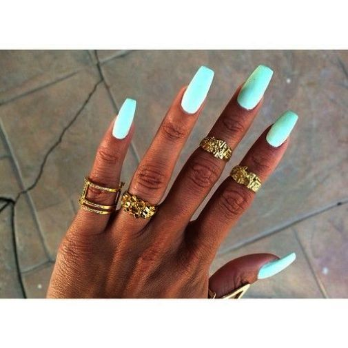 Pin On Matte Color Nails