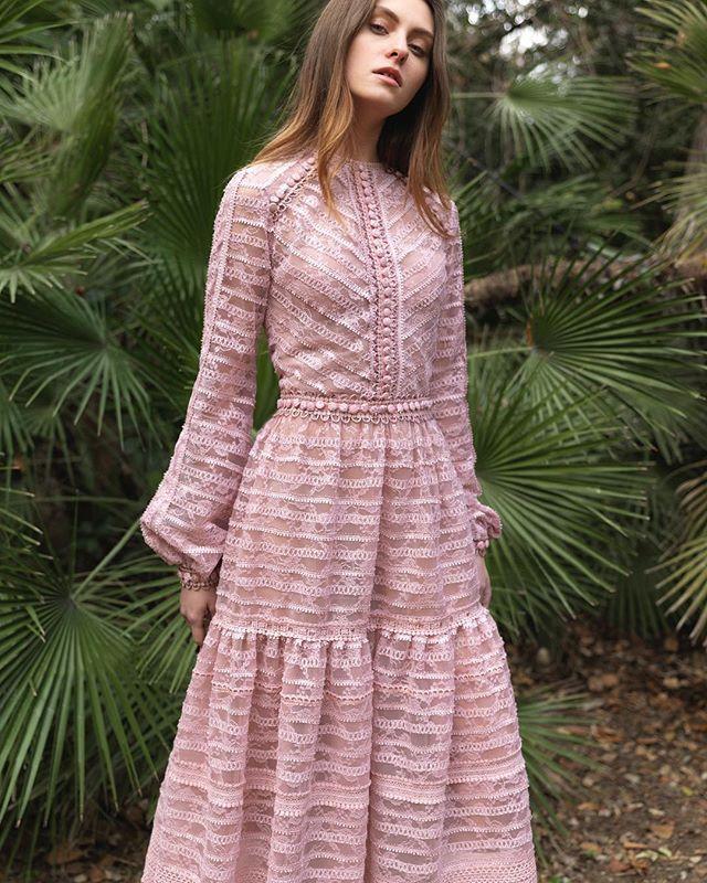 Pre-fall 2018 #rtw Collection.  #costarellos #prefall18 #prefall2018 #pfw #parisfashionweek #paris #pink