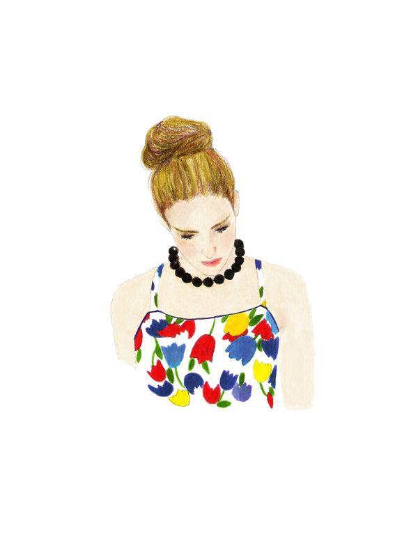 Inspiración fashion: Carrie Bradshaw (sex and the city) y  Marimekko. (febrero 2014)