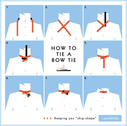 launderette_how_to_tie_a-bow_tie: Ties A Bows, Ideas, Bows Ties Tutorials, Style, Bow Ties, Men Fashion, Bowties, Howto, Men Apparel