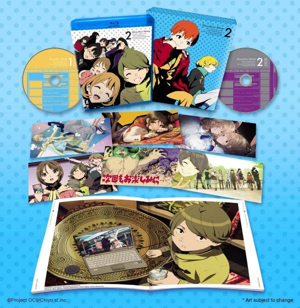 Occultic;Nine Volume 2 Blu-ray Anime Review