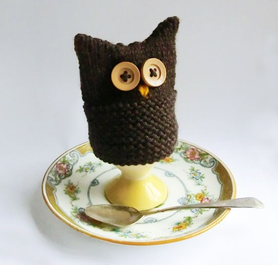 Owl Egg Cosy Knitting Pattern : 17 Best images about Knitted egg cosies on Pinterest ...