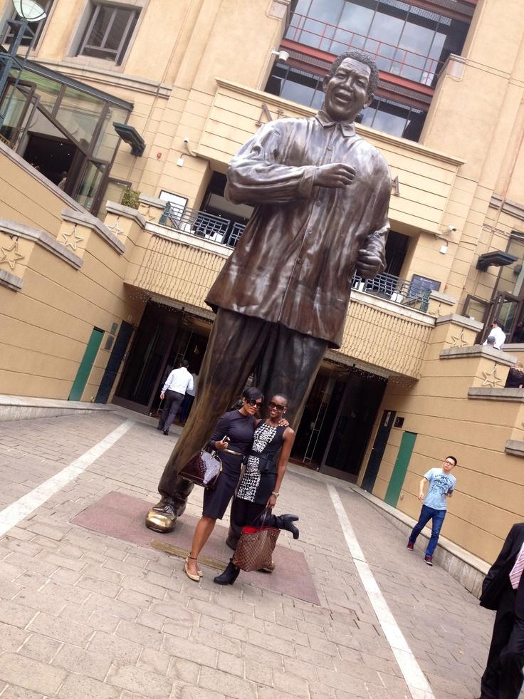 Nelson Mandela Square, Johannesburg, South Africa. October 2012