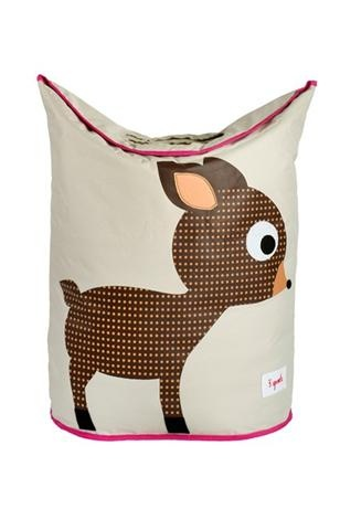 3 Sprouts Laundry Hamper - Deer, Storage