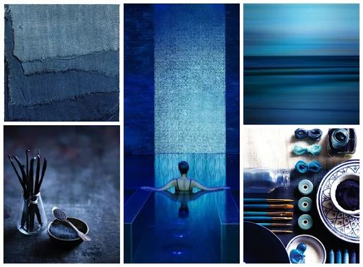 Il color Indaco ( blue )