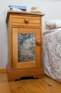 Creative Company   Pewter it – Vintage bedside table