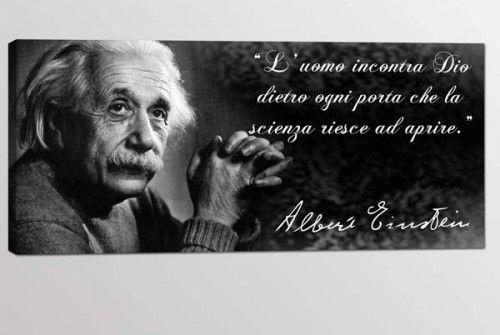 quadro moderno citazione Albert Einstein