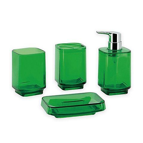 Kingston Brass Zion 4-Piece Bathroom Ensemble in Green