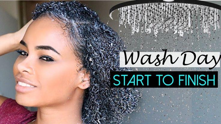 Natural Hair | WASH DAY ROUTINE (start to finish) [Video] - https://blackhairinformation.com/video-gallery/natural-hair-wash-day-routine-start-finish-video-4/