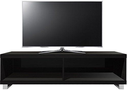 Centurion - Mobile di desing per TV a schermo piatto da 60 pollici, LED/LCD, colore Nero lucido EURO 149,00