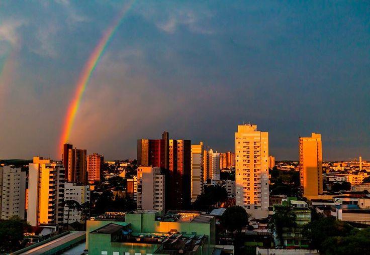 Pôr-do-sol - Cascavel- Parana - Brasil