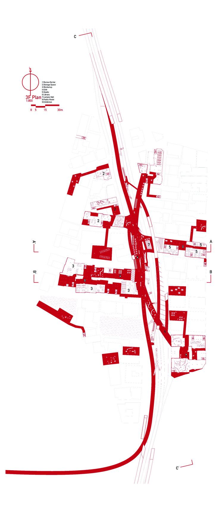 Plan / BIG Architecture renewal proposal, 2014 / By Max Zhong