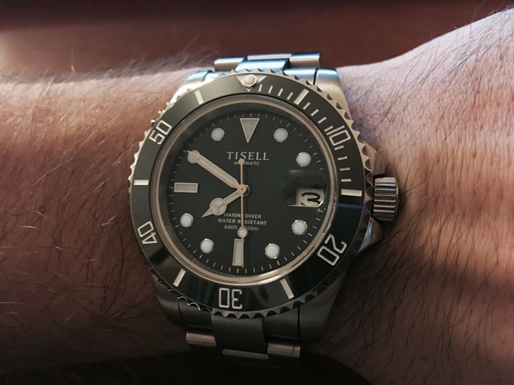 Tisell Marine Diver automatic