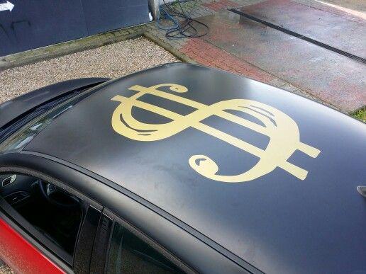 Adesivo oro per decoro automezzi