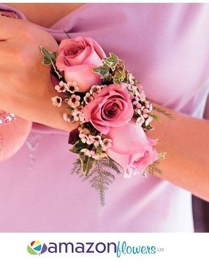 Flower Corsage, Wrist Corsages, Prom Corsage, Order Corsages, Dress Corsage, Wedding Flowers | Amazonflowers.us