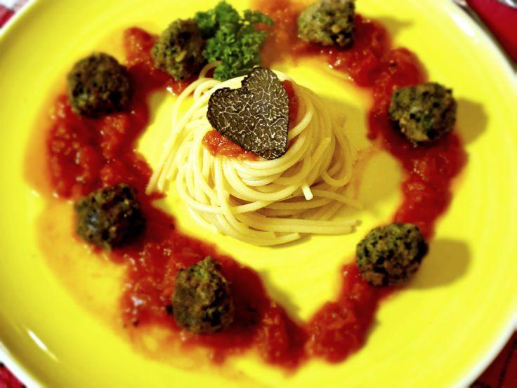 Recette de Saint Valentin mythique : Les Spaghettis aux boulettes Italiennes pour une Bella Note garantie ❤︎