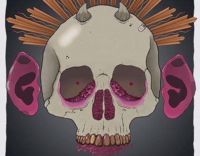 "Check out new work on my @Behance portfolio: ""Santa Muerte - Mala Muerte"" http://be.net/gallery/48497197/Santa-Muerte-Mala-Muerte"