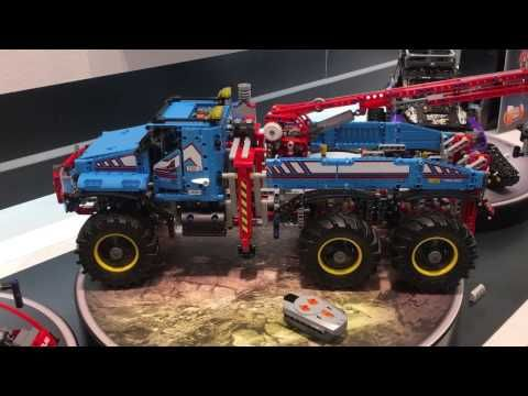 During the Nuremberg TOY FAIR 2017 (Spielwaremesse) LEGO reveled several new LEGO Technic sets: 6×6 All Terrain Tow Truck (42070), Airport Rescue …   source   ...Read More