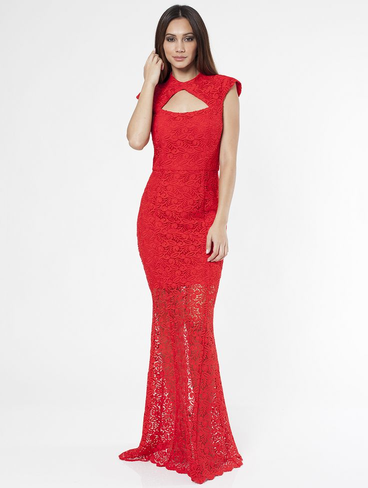 Romance The Label - Mystic Maxi Dress Red