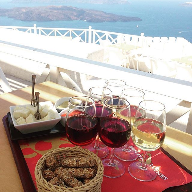 Did you know that #Santorini has some if the most ancient #vineyards in the world? Photo credits: @your_travel_buddy