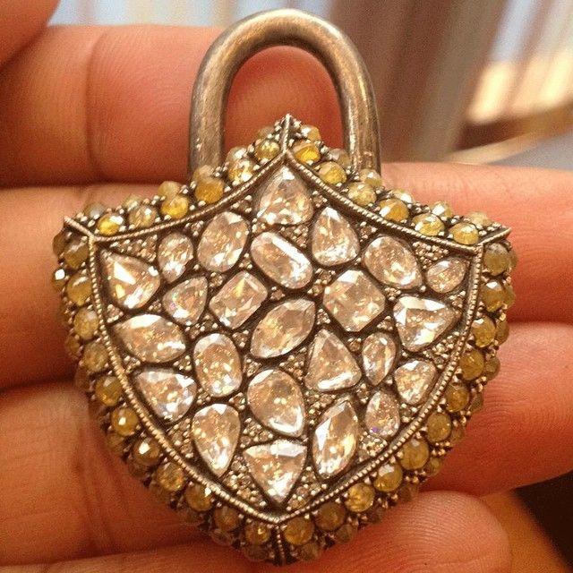 Seven Bicakci. Padlock pendant.