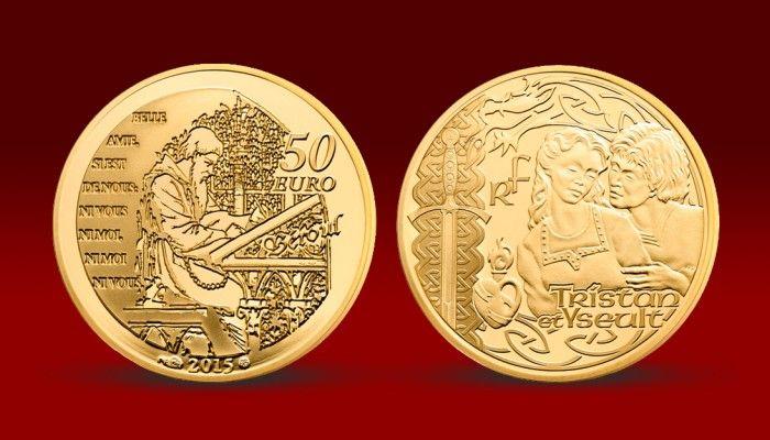 Unikátní zlatá mince je věnovaná slavnému rytířskému eposu o nenaplněné lásce – Tristan a Isolda. Numismat, je vyražen do 22karátového zlata 920/1000 legendární Pařížskou mincovnou, která je známa svými vysokými standardy kvality. Překrásná zlatá mince s úchvatným motivem má navíc velice nízkou limitaci – jen 500 ks pro celý svět! #narodnipokladnice