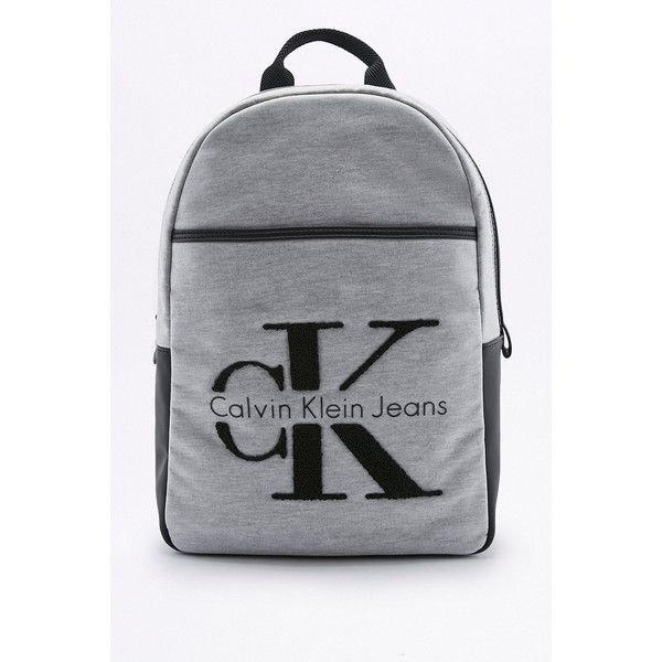 calvin klein re issue 2 0 grey neoprene backpack 2 950 mxn liked on polyvore featuring bags. Black Bedroom Furniture Sets. Home Design Ideas