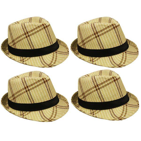 Fedora MEN WOMEN Hat Trilby Cuban Cap Summer Beach Sun Panama Short Brim Floral #Kimons #FedoraHat