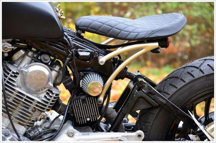 1981 Yamaha XV750 – 'Black Mat Ed' | Pipeburn.com