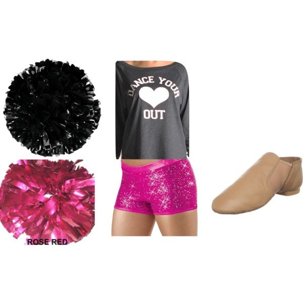 Pom Dance Practice Outfit!