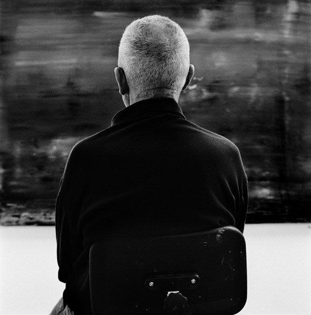 Anton Corbijn.   Gerhard Richter