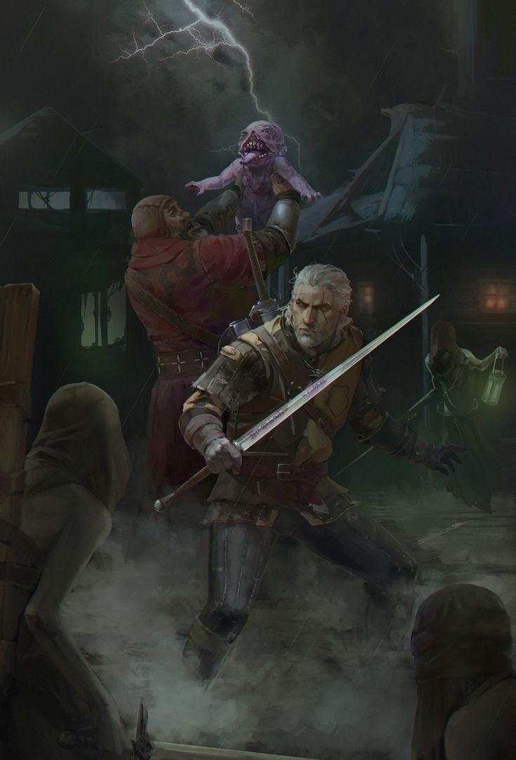 нарисовал сам,арт,красивые картинки,Witcher 3,The Witcher,Ведьмак, Witcher, ,фэндомы,fanart,Арт-клуб,разное,Геральт,Witcher Персонажи