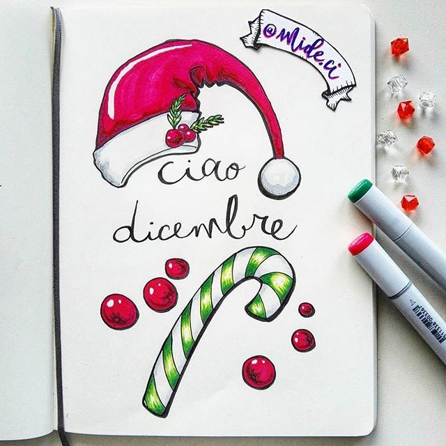 How about this gorgeous page from @mide.ci? And it's done in a #moleskine notebook, not on an iPad. Can you believe it? ・・・ :christmas_tree::gift::santa:Ciao dicembre! :christmas_tree::gift::santa: ° ° ° #moleskine #moleskineart #sketchbook #sketch #trave
