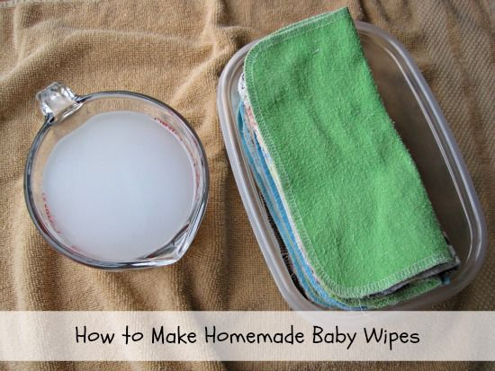 How to Make Homemade Baby Wipes on www.SimplySugarAndGlutenFree.com