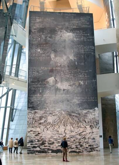 Anselm Kiefer - Epic! Just like most of Amselm Kiefer's work.