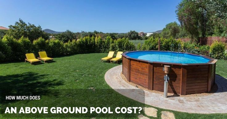 1000 ideas about above ground pool cost on pinterest ground pools above ground pool heater. Black Bedroom Furniture Sets. Home Design Ideas